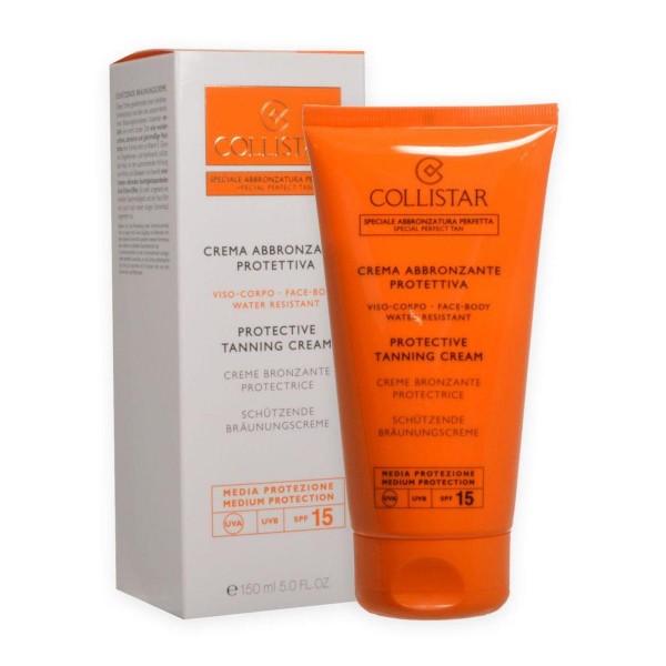 Collistar crema abbronzante protettiva crema spf15 150ml