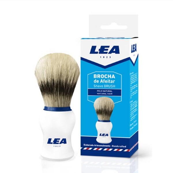 Lea hombre brocha afeitado pelo natural