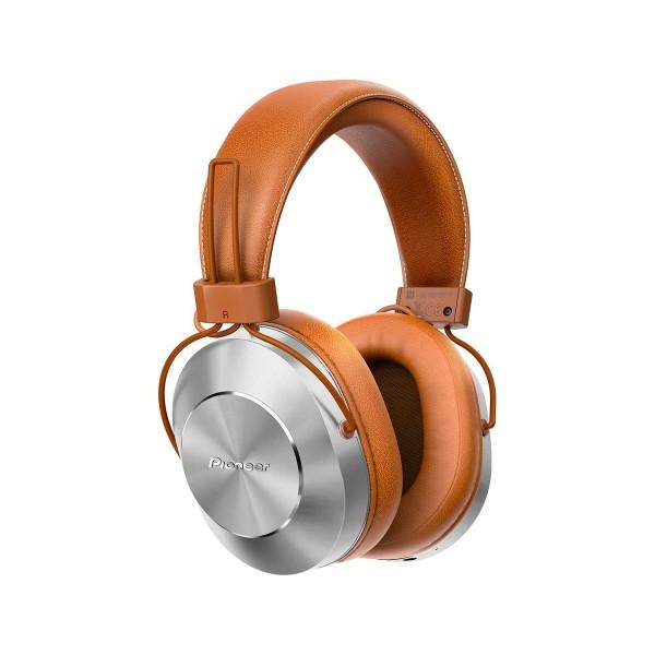 Pioneer se-ms7bt marrón auriculares inalámbricos audio de alta calidad con micrófono bluetooth nfc power bass