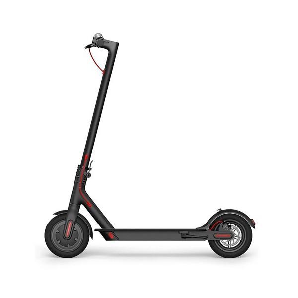 Xiaomi mi electric scooter negro patinete eléctrico hasta 25km/h y 30km de autonomía con diseño plegable