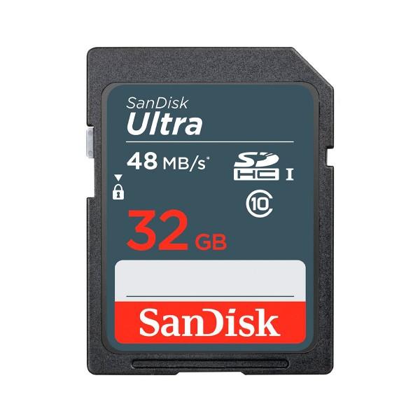 Sandisk ultra tarjeta de memoria sdhc clase 10 de 32 gb