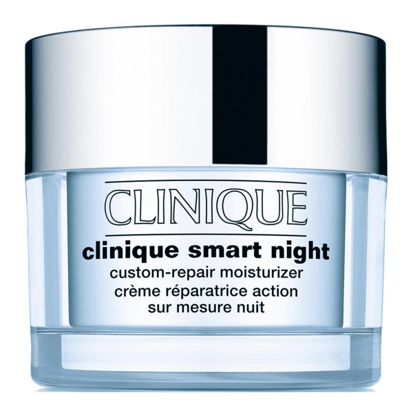 Clinique smart night custom repair moisturizer anti-age seche a mixtecream 50ml