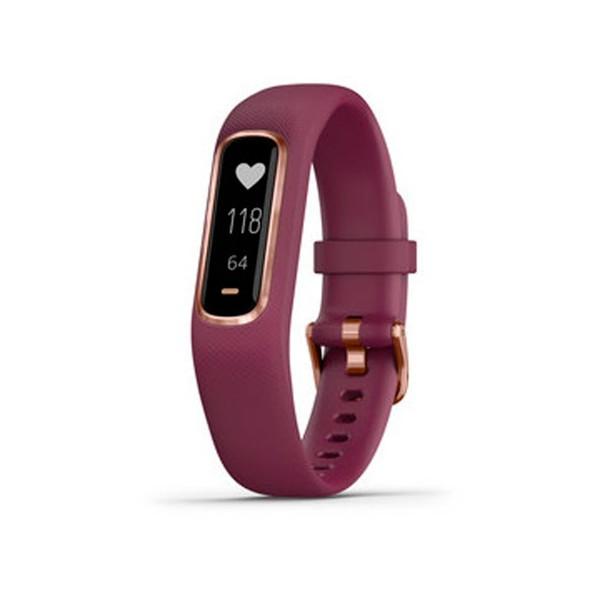Garmin vivosmart 4 rose gold (rojo) talla l pulsera monitor de actividad inteligente