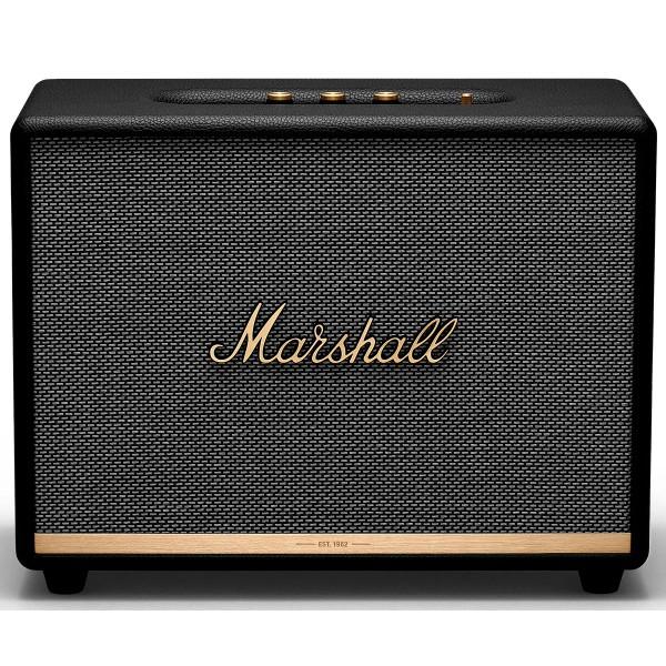 Marshall woburn ii negro altavoz bluetooth 110w de diseño compacto vintage
