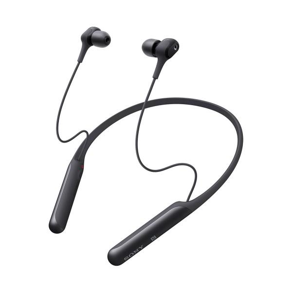 Sony wi-c600 negro auriculares inalámbricos de botón in-ear bluetooth nfc noise cancelling
