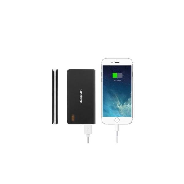 Unotec Slim2 4000mAh Negra - PowerBank para smartphone y iPad