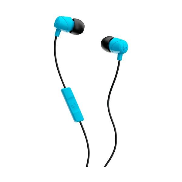 Skullcandy jib blue black auriculares de botón in-ear con cable y micrófono