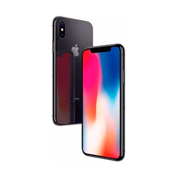 Apple iphone x 256gb gris espacial reacondicionado cpo móvil 4g 5.8'' super retina oled hdr/6core/256gb/3gb ram/12mp+12mp/7mp