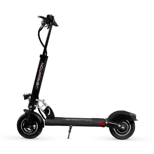 Brigmton bsk-1000 negro patinete eléctrico motor 500w velocidad 30km/h autonomía 35km