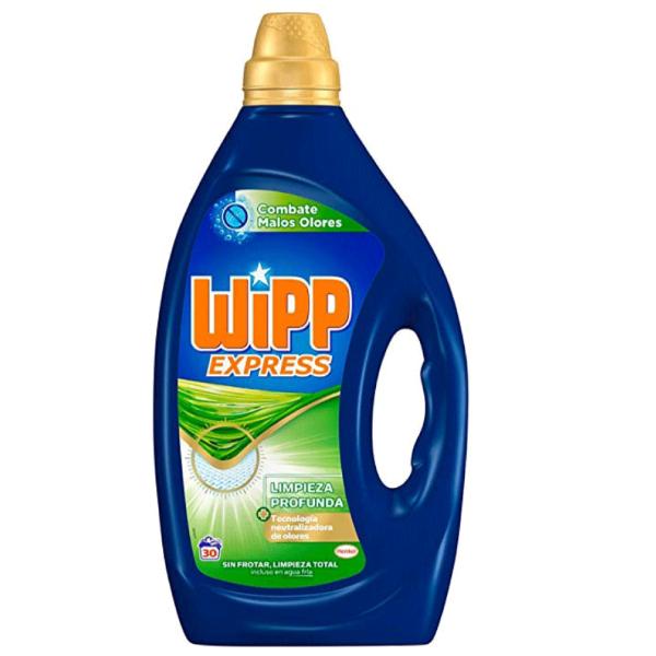 Wipp Express detergente Combate Malos Olores 30 lavados