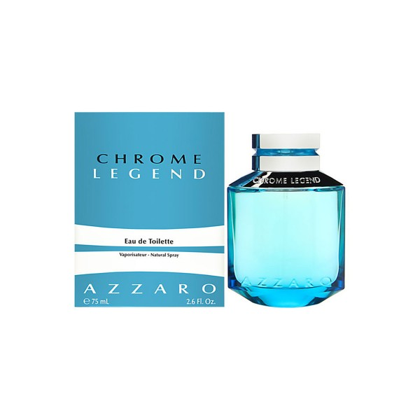Loris azzaro chrome legend eau de toilette 75ml vaporizador