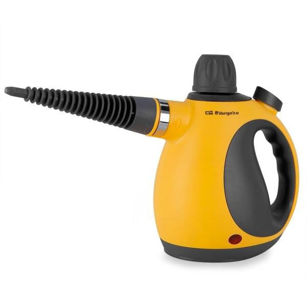 Orbegozo vaporetino limpiador a vapor 1050w 350ml con 9 accesorios y cable de corriente de 3m