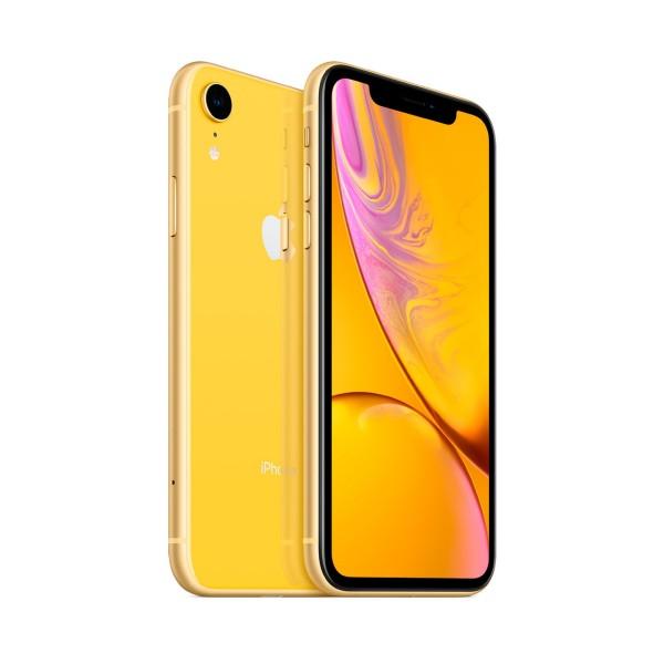 Apple iphone xr 64gb amarillo reacondicionado cpo móvil 4g 6.1'' liquid retina hd led hdr/6core/64gb/3gb ram/12mp/7mp