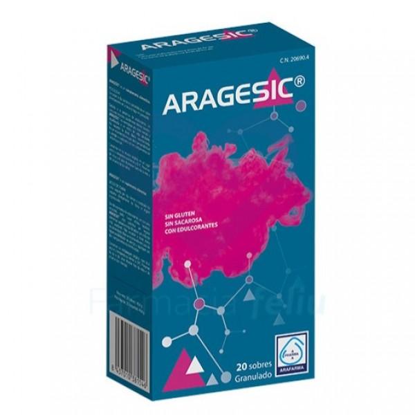 ARAGESIC 20 SOBRES