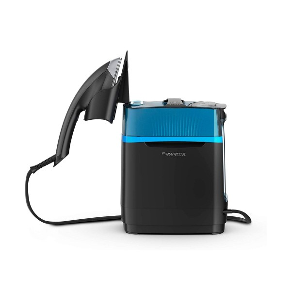 Rowenta ur2020 cube centro de planchado vertical y cepillo de vapor alta presión para desinfectar y refrescar, 2170w, 5.8 bar,