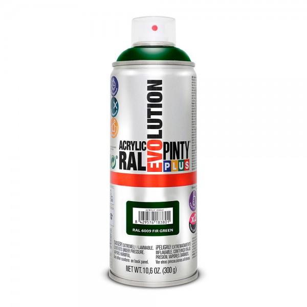 Pintura en spray pintyplus evolution 520cc ral 6009 verde abeto