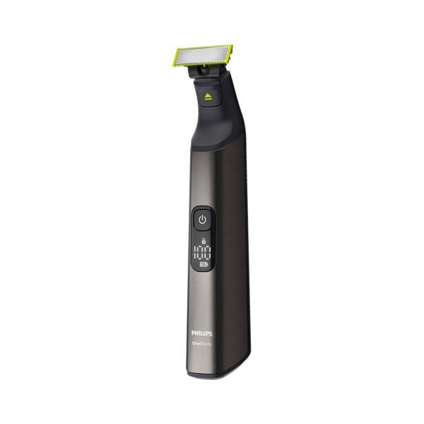 Philips qp6650/61 oneblade pro + body wet & dry afeitadora y recortadora de barba y cuerpo negro